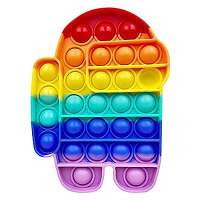 Pop Fidget Toy,Bubble Silicone Sensory Fidget T...