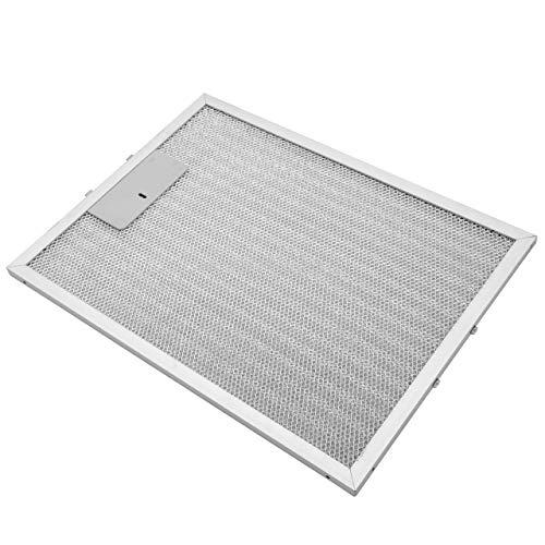 vhbw Filter Metallfettfilter, Dauerfilter 32,8 x 24,7 x 0,9 cm passend für Alno AEF3800S 94264094400 Dunstabzugshaube Metall