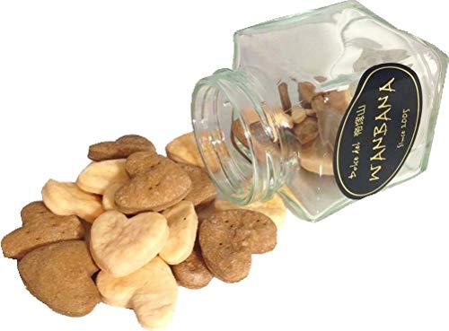 犬用ホワイトデープレミアムクッキー無添加 2色のクッキー瓶 1個 人気 おやつギフト プレゼント