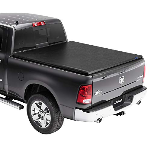 "Lund Genesis Roll Up, Soft Roll Up Truck Bed Tonneau Cover | 96017 | Fits 1994 - 2001 Dodge Ram 1500 (2002 2500,3500) 6' 6"" Bed (78"")"