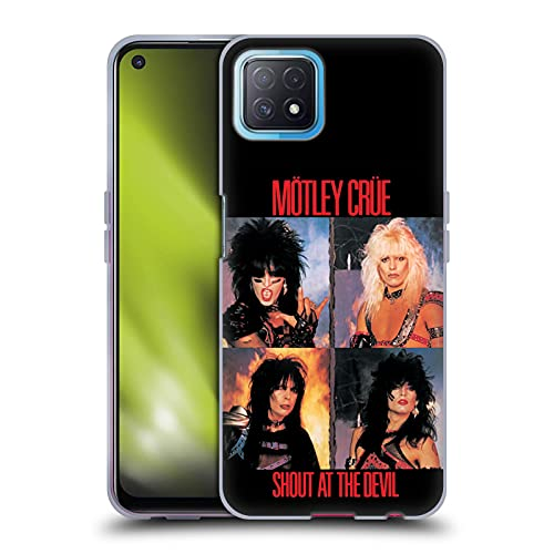 Head Case Designs Officially Licensed Motley Crue Shout at The Devil Albums Soft Gel Case Compatible with Oppo A72 5G -  HTPCR-OPPOA725-MOTLALB-SHO