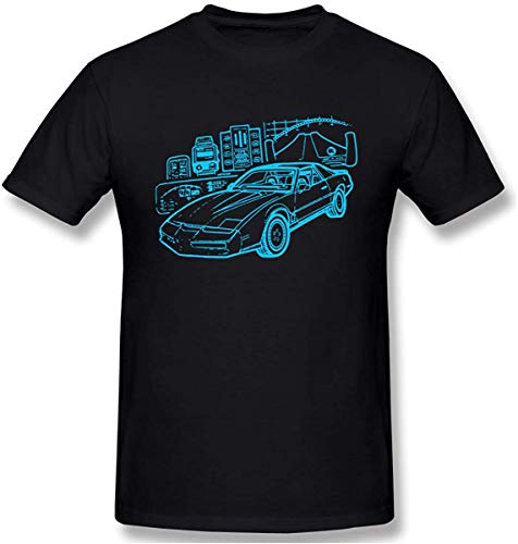 * NEW * Knight Rider Neon Art T-shirt for Men, S to 6XL