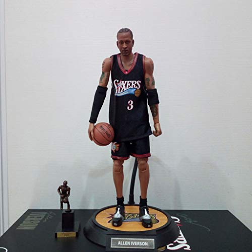 Good Buy NBA Action Figure Allen Iverson #3 PHI [Partes reemplazables] Figure