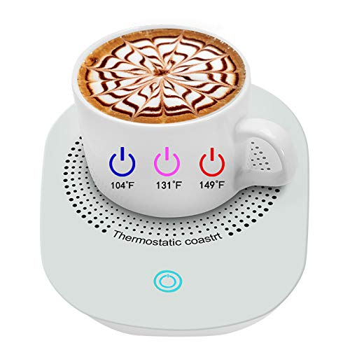 Coffee Cup Warmer for Desk with 3 Warm Levels,Coffee Mug Warmer for Desk Office Home