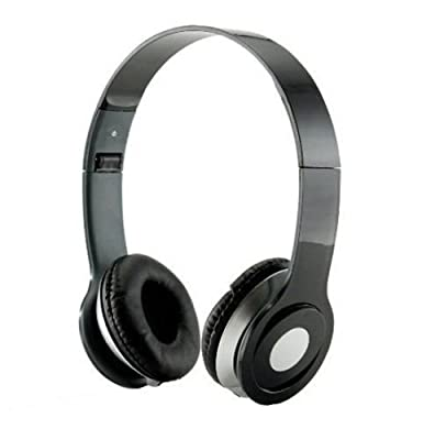 HeadGear 3.5mm Foldable Headphone Headset for Dj Headphone Mp3 M Pc Tablet Music Video and All Other Music Players (Black)