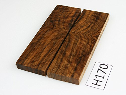 exotic wood walnut knife scales - messergriffe - messergriffschallen, Poignée couteau échelles-Cuchillo Escala H170