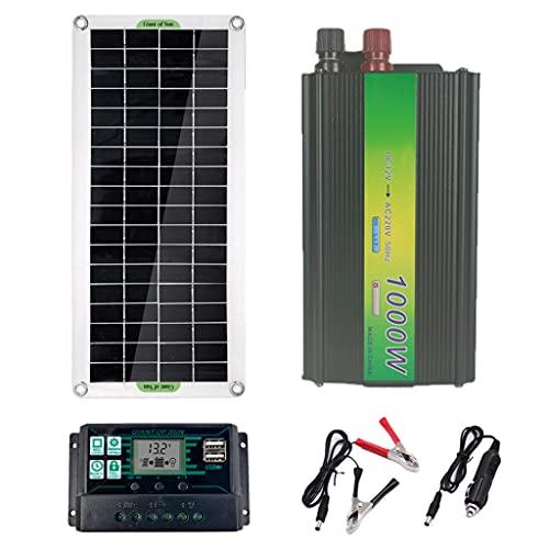 #N/A/a Sistema de Panel Solar 220V 30W Panel Solar Controlador de Carga...