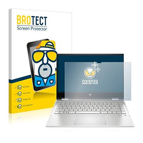 BROTECT Entspiegelungs-Schutzfolie kompatibel mit HP Pavilion x360 14-dw1777ng Bildschirmschutz-Folie Matt, Anti-Reflex, Anti-Fingerprint