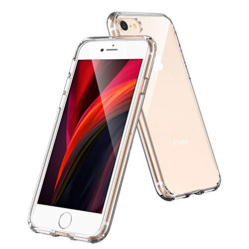 Syncwire Hülle kompatibel mit iPhone SE 2020, iPhone 8 iPhone 7 Schutzhülle mit Extrem Hohen Fallschutz und Luftkissen-Technologie Handyhülle für Apple iPhone SE 2020/8/7 4.7 Zoll, Kristallklar
