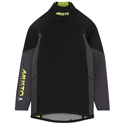 Musto Youth Championship Thermohot Neoprene Top 2017 - Black JM