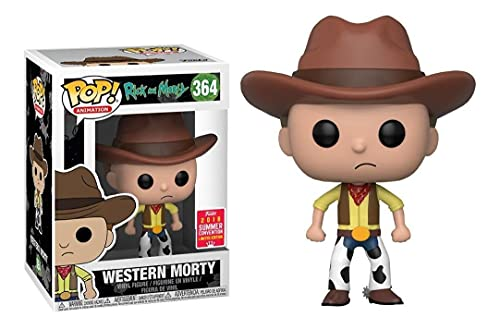 Funko Pop Rick and Morty 364 Western Morty Exclusive