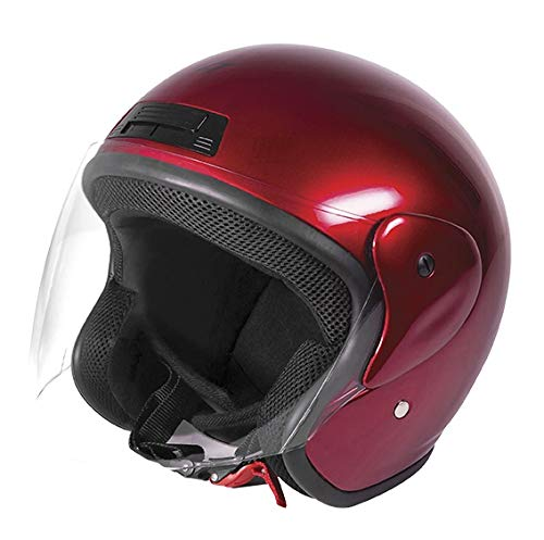 Stormer, motorradhelm SUN red calm, XL