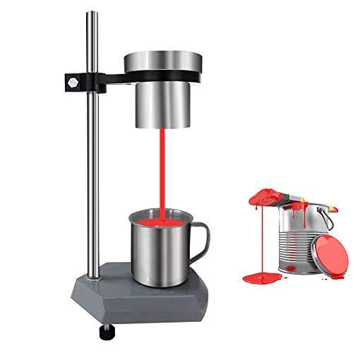MXBAOHENG Viscosity Cup Ford Viscosity Cup 3# Copa de medición de viscosímetro de flujo copa de inmersión de viscosímetro para prueba de viscosidad de tintas, revestimientos y pinturas (trajes)
