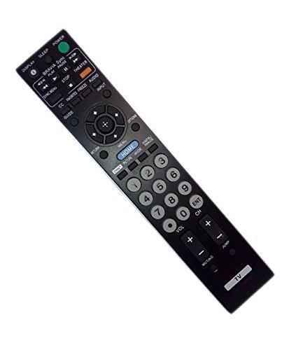 sony remote control outlets Replaced Remote Control Compatible for Sony KDL-40VE5 KDL-46BX420 KDL-26FA400 KDL-55BX520 KLV-40S510A KDL-40SL140 KDL40V5100 KDL40BX420 RMYD026 KDL40BX4200 KLV40SL50A KDL46SL140 TV
