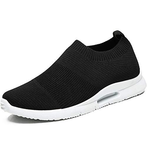 Damyuan Hombres Zapatillas de Deporte Ligero Superficie Neta Transpirable Zapatos de Trabajo Fitness Corriendo Zapatos Casuales Zapatos de Hombre