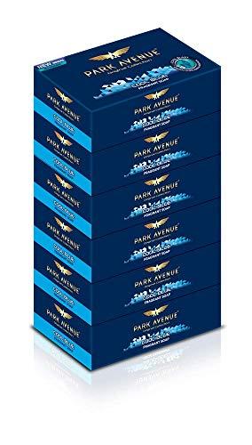 Glamorous Hub Park Avenue Jabón azul frío, 125 g (paquete de 6)