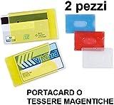 Brieftasche aus Kunststoff Hartschale f�r Kreditkarten und Ausweis magnetischer 2PZ
