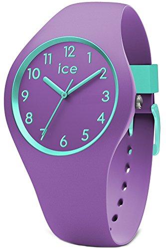Ice-Watch - ICE ola kids Mermaid - Lila Mädchenuhr mit Silikonarmband - 014432 (Small)