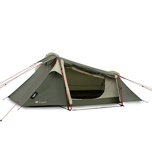 Qeedo Light Spruce 1 Trekkingzelt, ultraleicht (1,9 kg) - Tunnelzelt (1 Person), windstabil