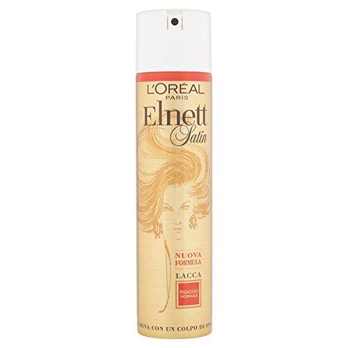 L Oréal Paris Elnett Fissaggio Normale Lacca Spray per Capelli, 250ml
