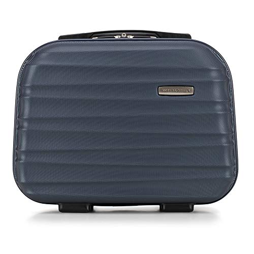 WITTCHEN Kosmetikkoffer Reisekoffer | Navy Blau | 30x16x34 | Kapazität: 15L | Gewicht: 1kg