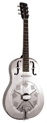 Oro Tono Paul barba Signature Series Gre acústica eléctrica guitarra con resonador (madera de caoba)