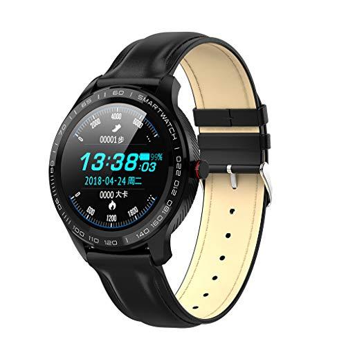 Riou Herren Sportuhr Wasserdicht Smartwatch Digitale Armbanduhren mit GPS Fitness Tracker mit Schrittzähler, Pulsmesser, Musiksteuerung, Schlaf-Monitor Sportuhr Fitnessuhr