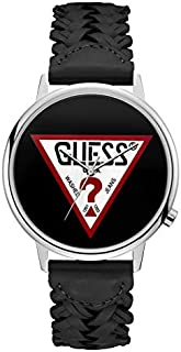 Guess Casual Watch for Women, Genuine Leather, Analog - V1001M2