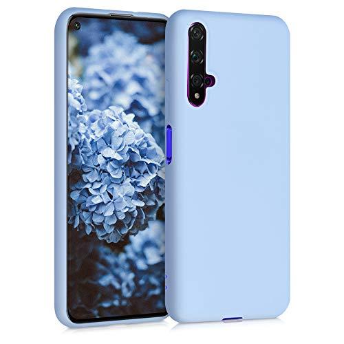 kwmobile Hülle kompatibel mit Huawei Nova 5T - Hülle Handyhülle - Handy Case in Hellblau matt