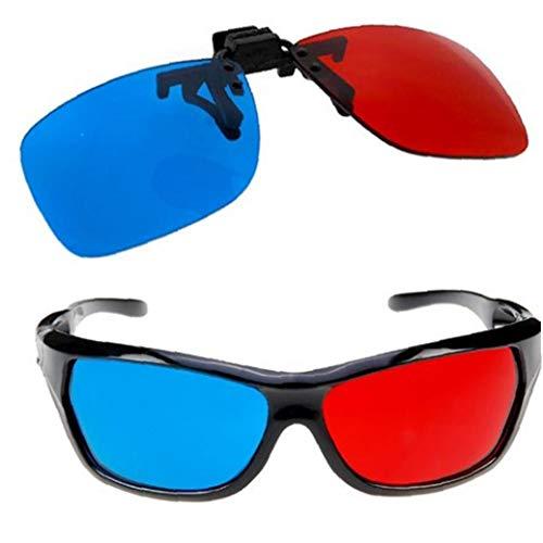 Nicetruc Uso De Múltiples Clips 3D Vision Lentes Estilo Sim