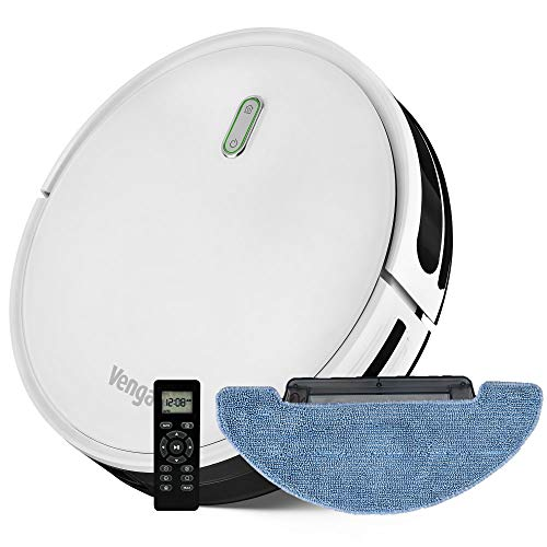 Robot Vacuum Cleaner 3-in-1 sweep, vacuum and mop, with water tank, One-Key Planning Technology, 6 cleaning modes, Auto-charging, Anti falling, Venga! VG RVC 3000 BS