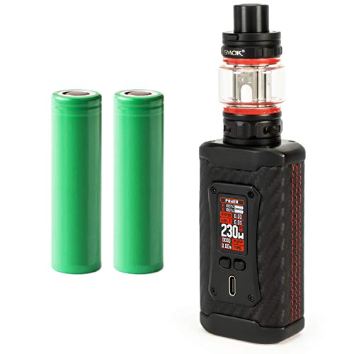 Smok Morph 2 Kit inkl. TFV 18 (7,5ml) 5000 mAh E-Zigaretten-Set E-Zigarette Starterset (nikotinfrei) (schwarz-carbon)