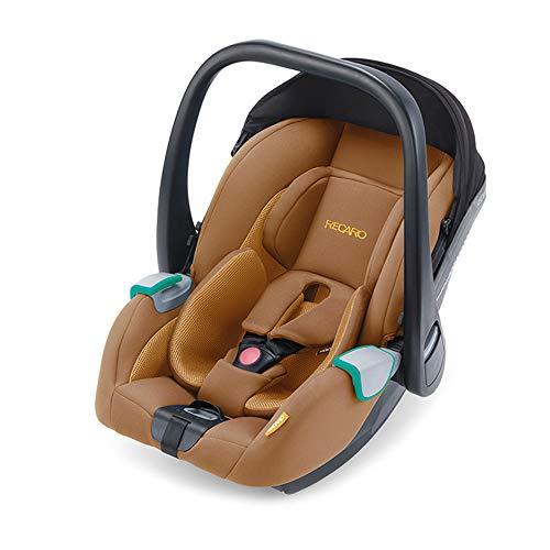 RECARO Kids, Babyschale Avan, i-Size 40-83 cm, Babyschale 0-13 kg, Kompatibel mit der Avan/Kio Base (i-Size), Verwendung mit Kinderwagen, Einfache Installation, Hohe Sicherheit, Select Sweet Curry