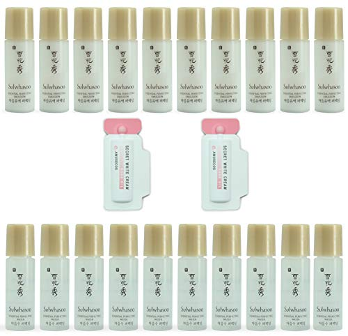 [Sulwhasoo] Essential Perfecting Water & Emulsion Sample Set (5ml X 20pcs), All Skin Types, Moisturized, Soothing