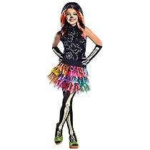 Rubies- Monster High, Disfraz de Skelita Calaveras para niña infantil (5-7 años)