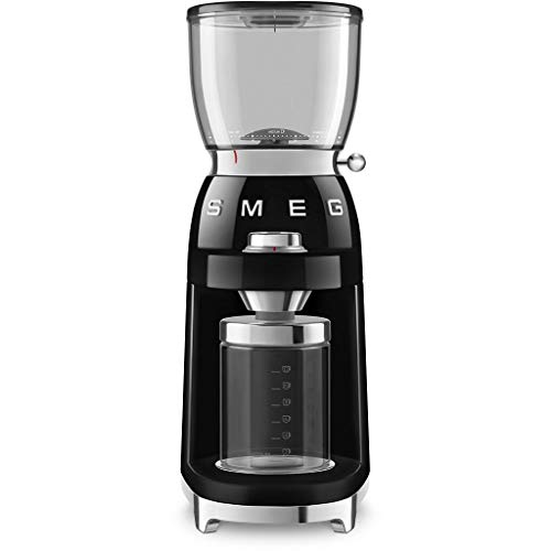 SMEG CGF01BLEU | Koffiemolen Jaren '50 | Kleur : zwart