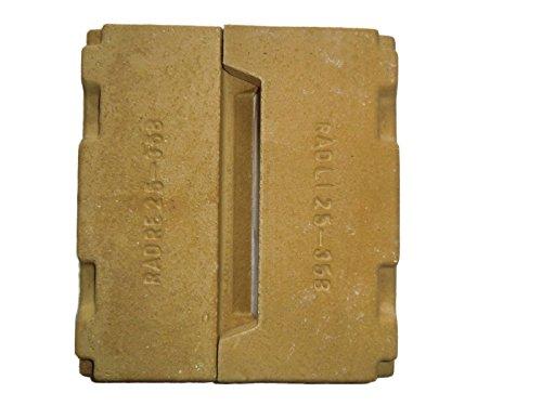 Buderus Kandern 25 B - 35 B Bodenstein Schamott Holzfeuerungsset Original Echt
