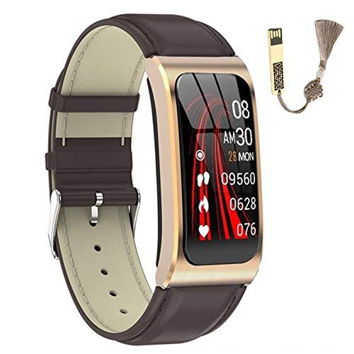DTTKKUE Smart Watch Aktivitäts Tracker Mit Herzfrequenz Schlaf Blut Sauerstoff Monitor 1.14 '' Smartwatch Fitness Tracker Intelligente Uhr Smart Armband Schrittzähler Für Frauen Und Männer,B