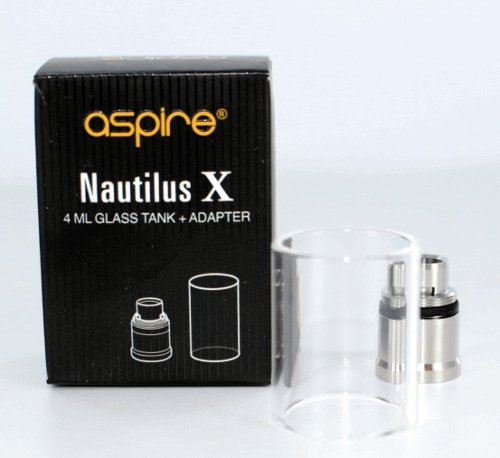 Aspire Nautilus X Glastank 4 ml + Adapter, 10 g