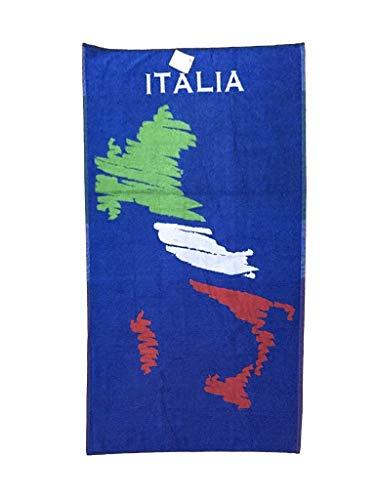 Fratelli Pesce 8030 strandhanddoek Italië, blauw