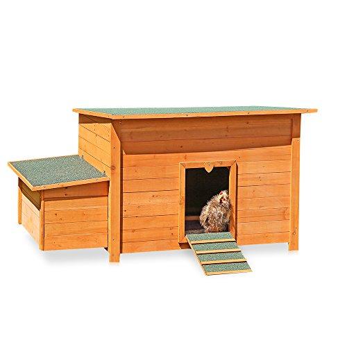Hühnerstall Hühner Käfig Legenest aus Holz ca. 149 x 80 x 79 (BxHxT)