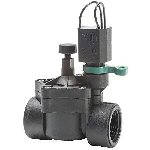 """Electroválvula Rain RN 150 24V 3 4"""" con regulador de caudal"""