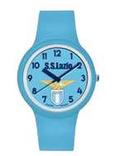 Orologio da polso in silicone celeste - ufficiale Ss Lazio - Lowell - 37mm - orologio con scatola