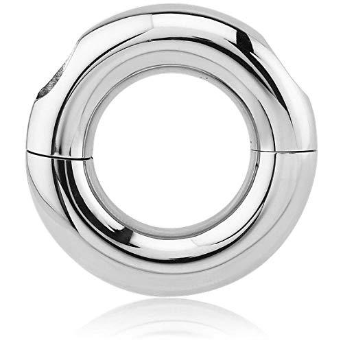 Inoki – Segmentring Stahl schraubbar – Armreif/Schaft 8 mm, Durchmesser 19 mm