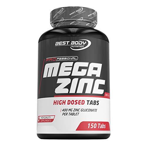 Bbn Hardcore Mega Zinc Tablets, 150 G