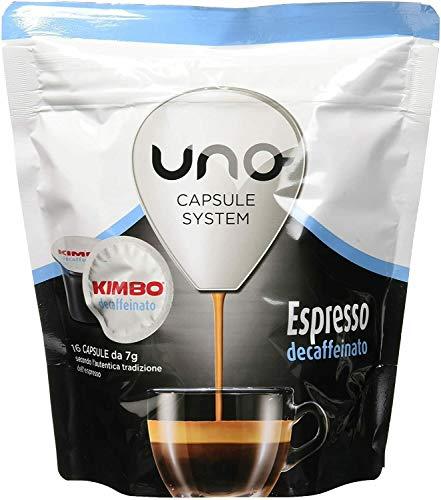 96 CAPSULE CAFFE KIMBO MISCELA ESPRESSO CEFAFFEINATO DEK UNO SYSTEM ILLY