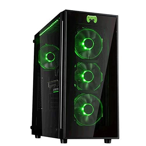 ONE PietSmiet PC Porno Gaming-PC AMD Ryzen 7 3700X Prozessor ASUS NVIDIA GeForce RTX 2060 SUPER 16 GB DDR4 500 GB SSD + 2 TB HDD ASUS Mainboard Microsoft Windows 10 Home 3 Jahre Garantie