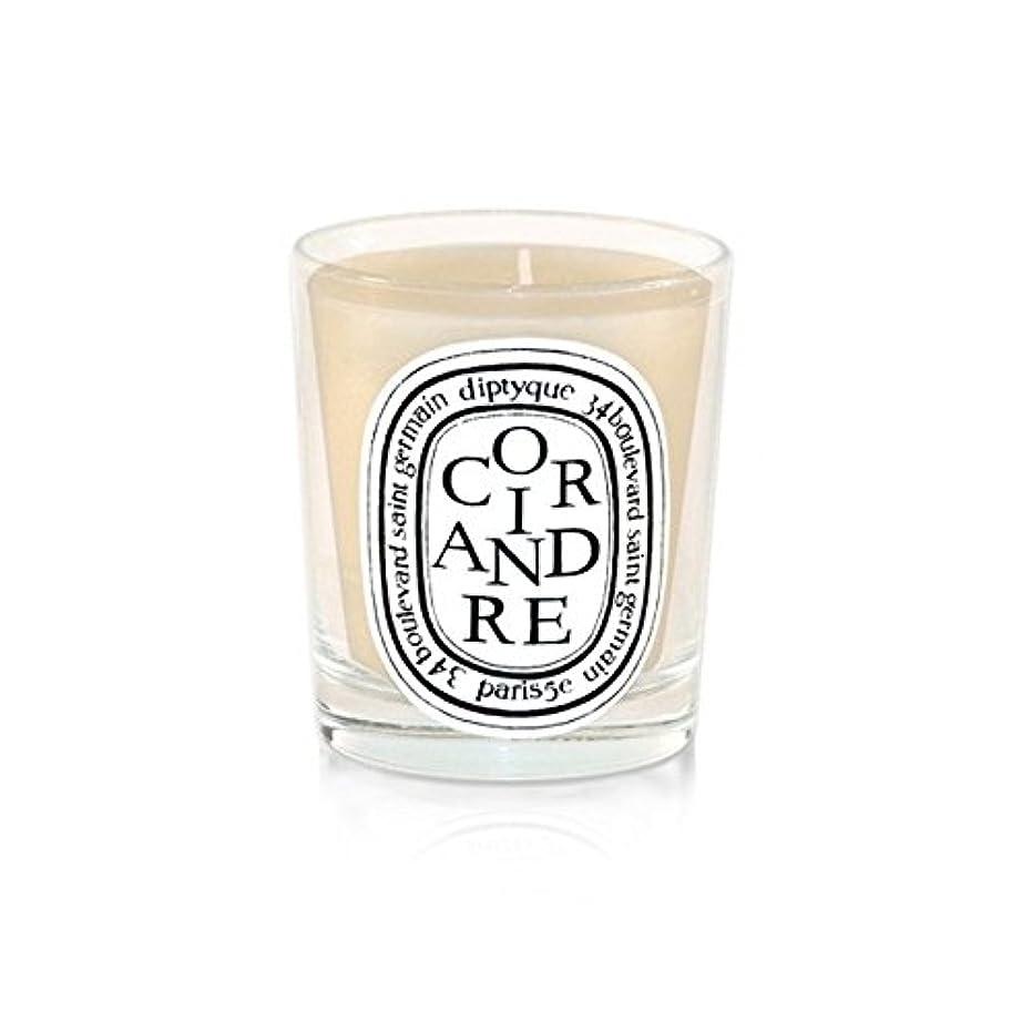 防衛おとうさんバーターDiptyque Candle Coriandre / Coriander 190g (Pack of 6) - DiptyqueキャンドルCoriandre /コリアンダー190グラム (x6) [並行輸入品]