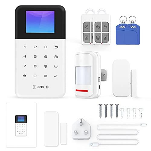 Tuya WiFi Smart Alarm Host Wireless GSM...