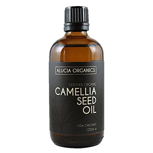 Alucia Organics Olio di semi di camelia Certificato Organico 100ml